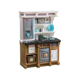 Step2 Kids Kitchen Play Set Lifestyle Custom Playroom Compac