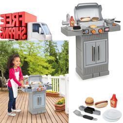 kids kitchen play set pretend food accessories