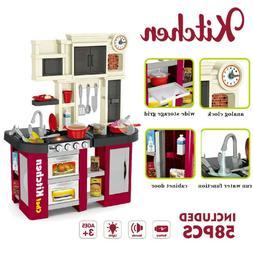Kids Kitchen Pretend Play Set Baker Kids Toy Cooking Playset