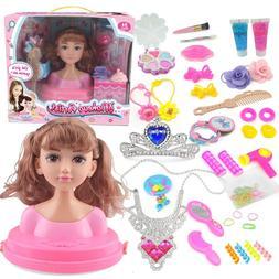 Kids Make Up Comb <font><b>Hair</b></font> Toy Doll <font><b