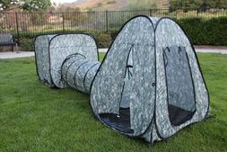 G3Elite Kids Play Tent 3 Piece Pop Up Play Set, Outdoor/Indo