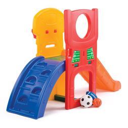 kids playground climber and amp slide indoor