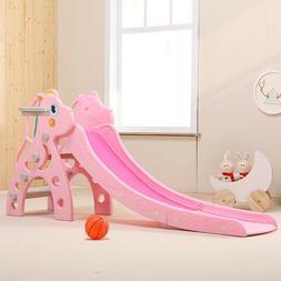 toddler indoor kids play slide set climber