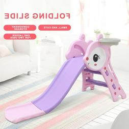 Kids Playground Slide Climber Playset Indoor Outdoor Toddler