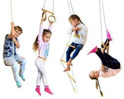 Kids playset 4in1 - Indoor and outdoor playground equipment