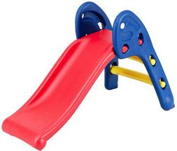 Kids Slide Indoor Outdoor Children Folding Plastic Slides Pl