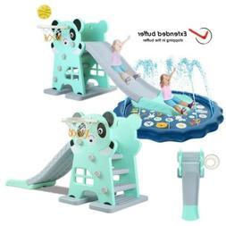 Kids Slide Play Set Home Backyard Climber Toddler Toy Playgr