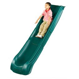 Kids Slide w Wide Handrails Backyard Playset Garden Playgrou