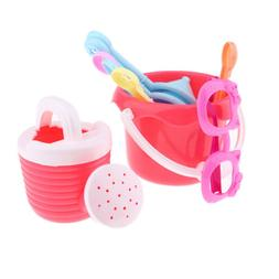 Kids Summer Beach Toys Set, 9Pieces Sand Tool Outdoor Playse