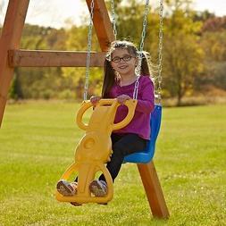 Kids Swing Set Accessory Seat Kid Child Outdoor Play Yard Pl