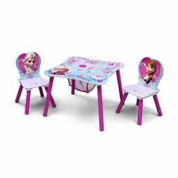 Kids Table and Chairs Play Set Toddler Baby Toy Activity Fur