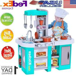 Kitchen Chef Toy Kids Pretend Play Toys For Girls Role Playi