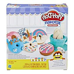 Play-Doh Kitchen Creations Delightful Donuts Set with 4 Colo