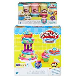 Play-Doh Kitchen Creations Frost n' Fun Cakes Play Set + Pla