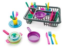 Kids Kitchen Dishes Childrens Pretend Play Educational Toy S