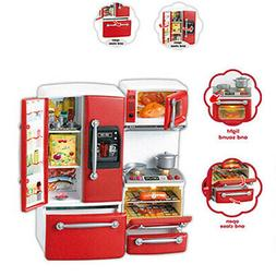 Kitchen For Barbie Doll House Play Set Furniture Cooking Tod