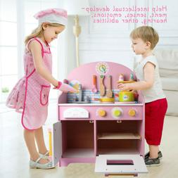 Kitchen For Toddler Set Large Playset Kid Play Sink Home Chi
