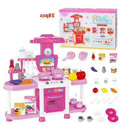 Kitchen Kids Cooking Pre-school Toys Cook Play Set for Child