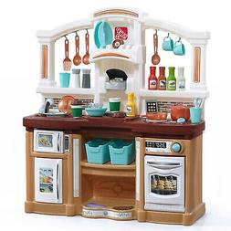 Kids Kitchen Play Set Pretend Cooking Playset Food Baker Toy