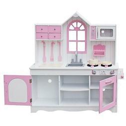 Kitchen Play Set Kids Girls Boys Pretend Toys Children Toddl