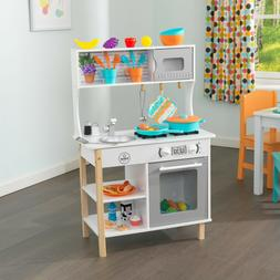 Kitchen Play Set Kids Girls Boys Pretend Toys Children Toddl