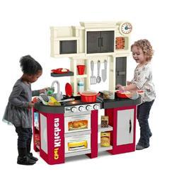 kitchen play set kids pretend toy food