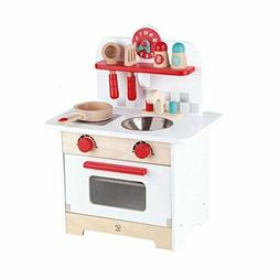 Kitchen Play Set Hape Kids Wood Gourmet Pretend Toy
