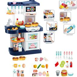 Kitchen Play Sets For Kids Boys With Smart Touch Screen And