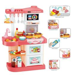 Kitchen Playset For Girls and Boys Pretend Play Toy Cooking
