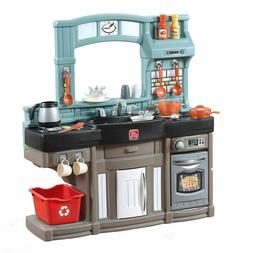 kitchen playset kids toy working doors light
