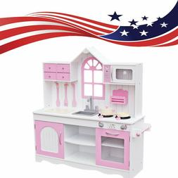 Kitchen Playset Play For Kids Pretend Play Toy Toddler Kitch