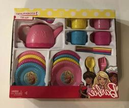 Barbie Kitchen Playset Tea Set Toy Dishes New In The Package