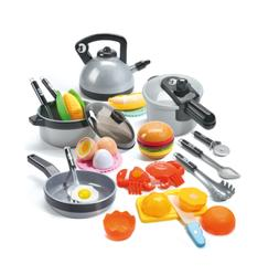 Kitchen Pretend Play Toys Play Cooking Set Playset Best Gift