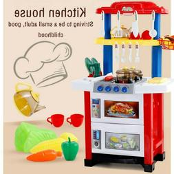 Kitchen Pretend Playset Play Kids Play Water Kitchen Toy Tod