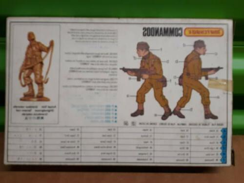 Matchbox Scale Commandos Combat Troops Play Set Figures
