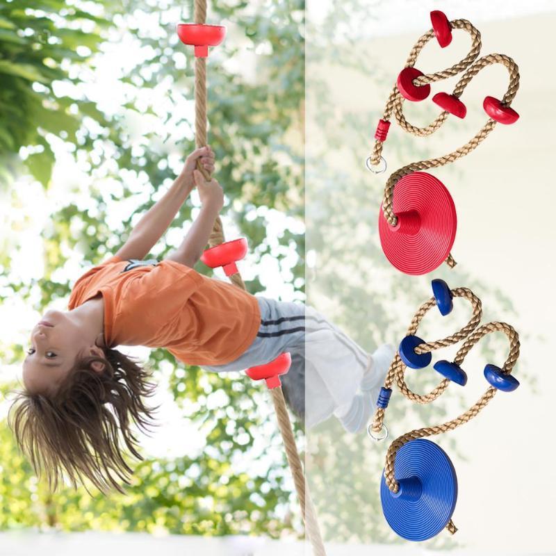 1 <font><b>set</b></font> Jungle Gym Climbing and Disc <font><b>Swing</b></font> for Fitness <font><b>Set</b></font> Accessories Kids Seat Toy