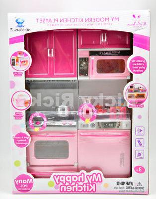 1 Pretend Kitchen Set Playset