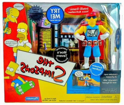 2004 simpsons duffman diorama action figures play