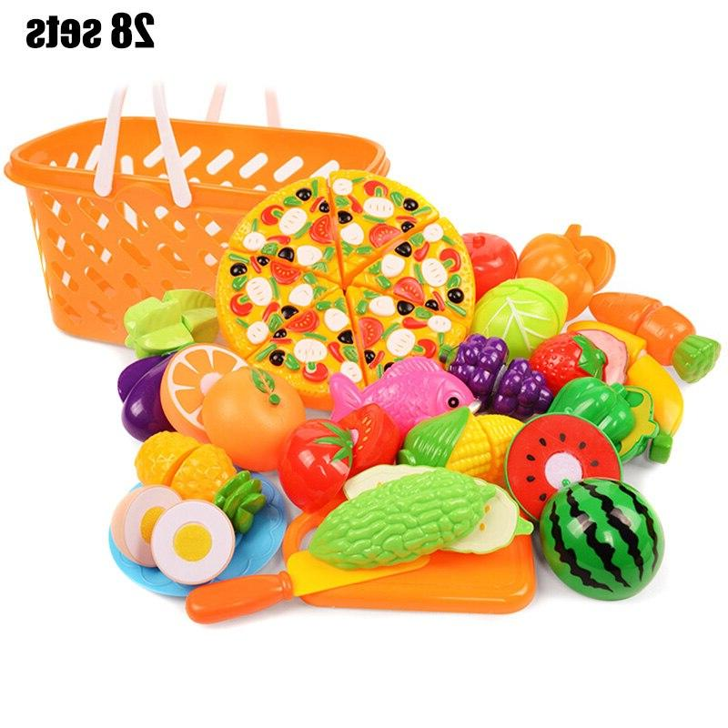 2019 New Fruit Kit <font><b>Set</b></font> Roleplay Toddler Playhouse Game Children