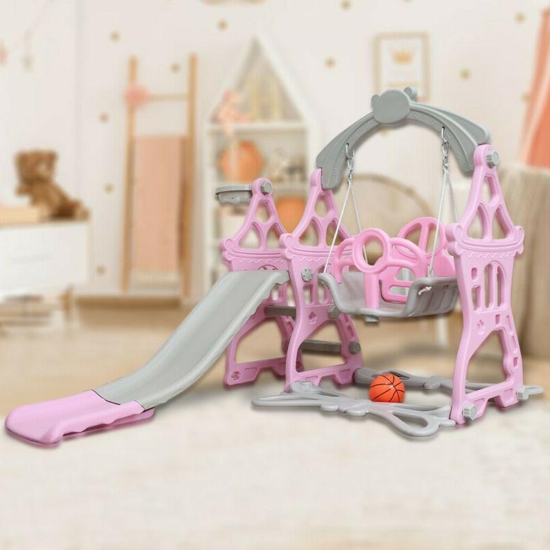 Slide Set Playground Swing Toddler