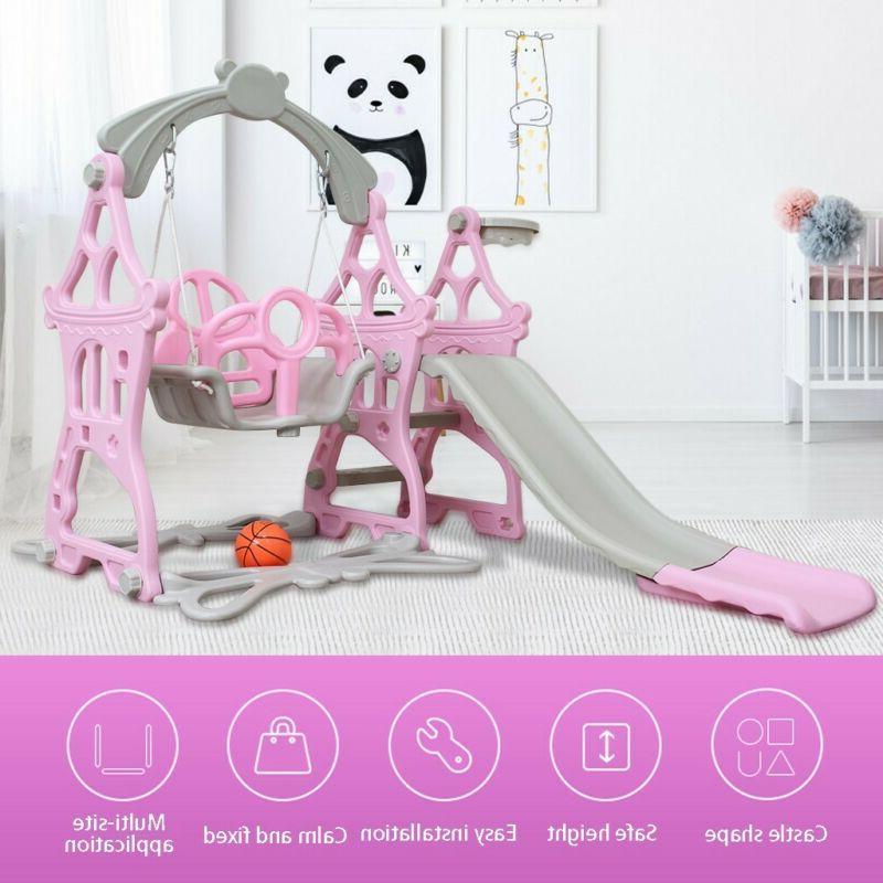 Indoor Outdoor Slide Playground