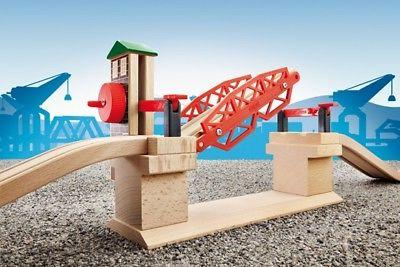 BRIO Lifting Bridge Wooden Add-On