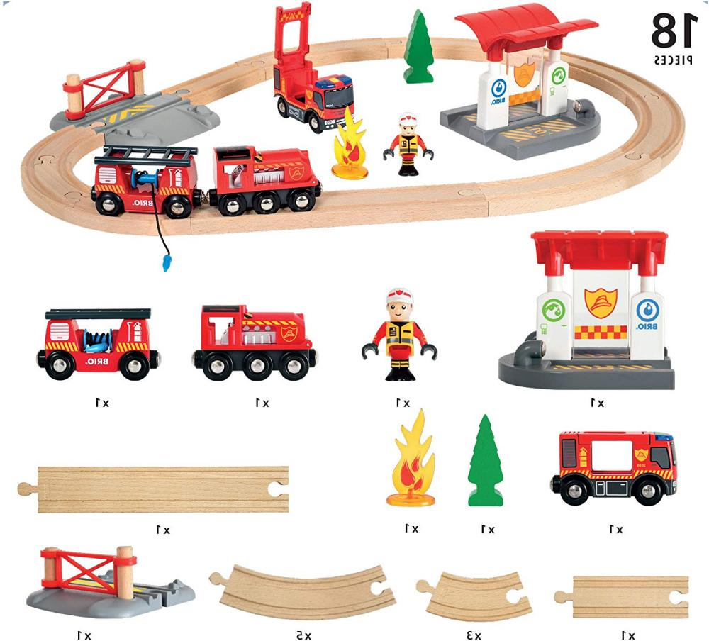 BRIO Firefighter Set | Train Toy Fire & Engine New