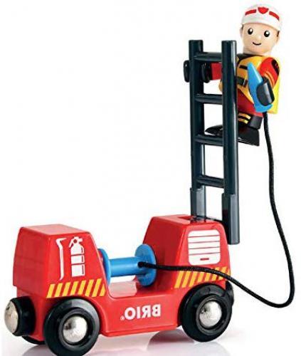 BRIO Firefighter Set Train & New
