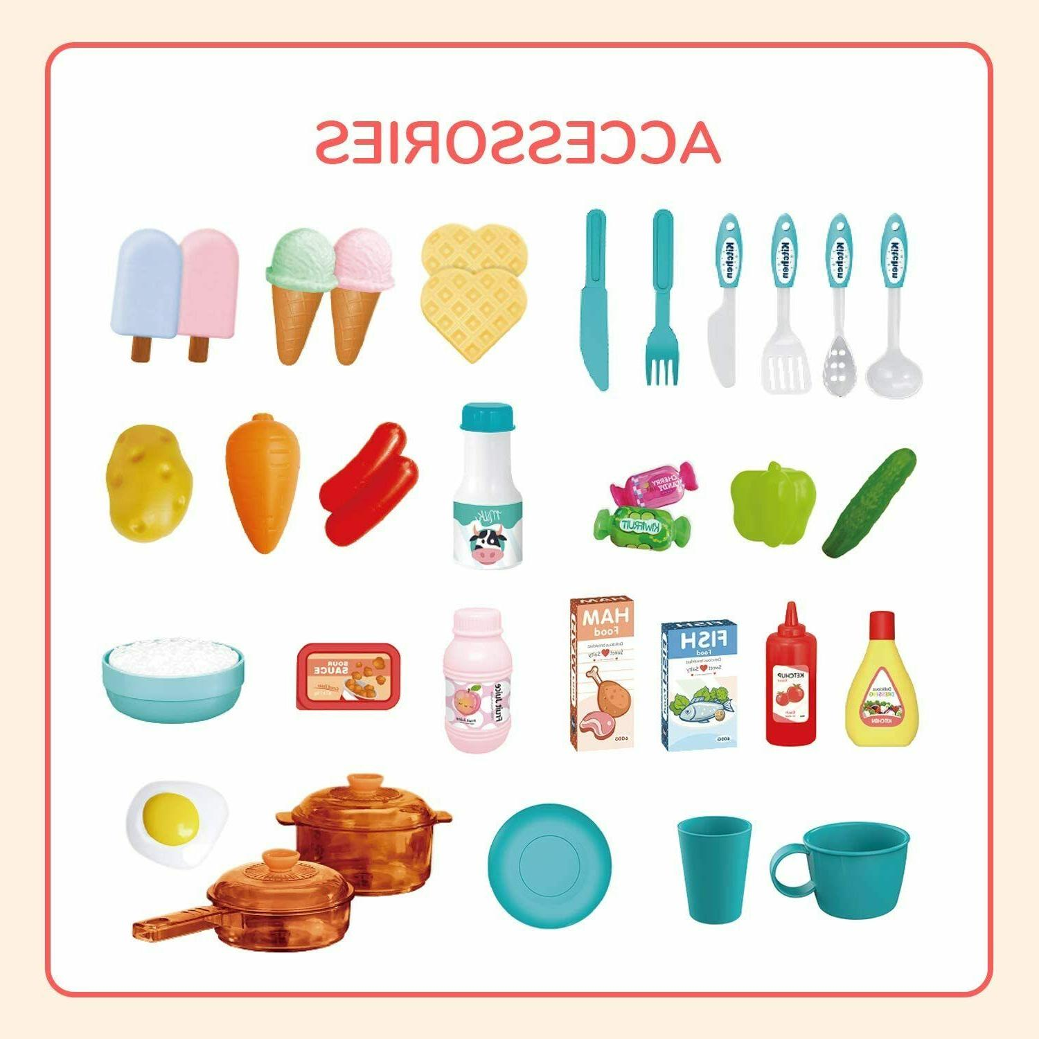 35 Play Set Toy Cooking Toys Gift
