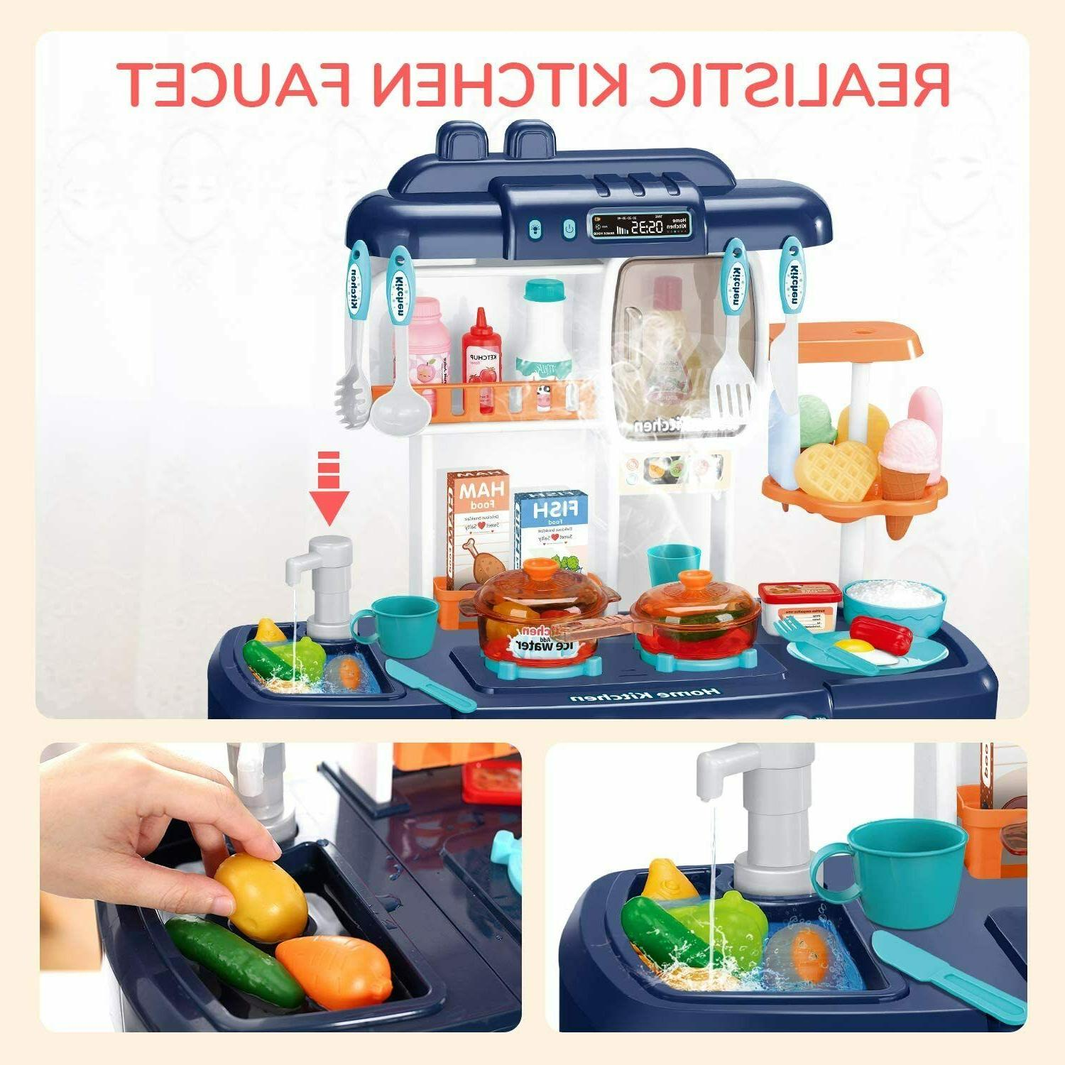 35 Pcs Set Pretend Baker Toy Cooking Playset Toys Gift