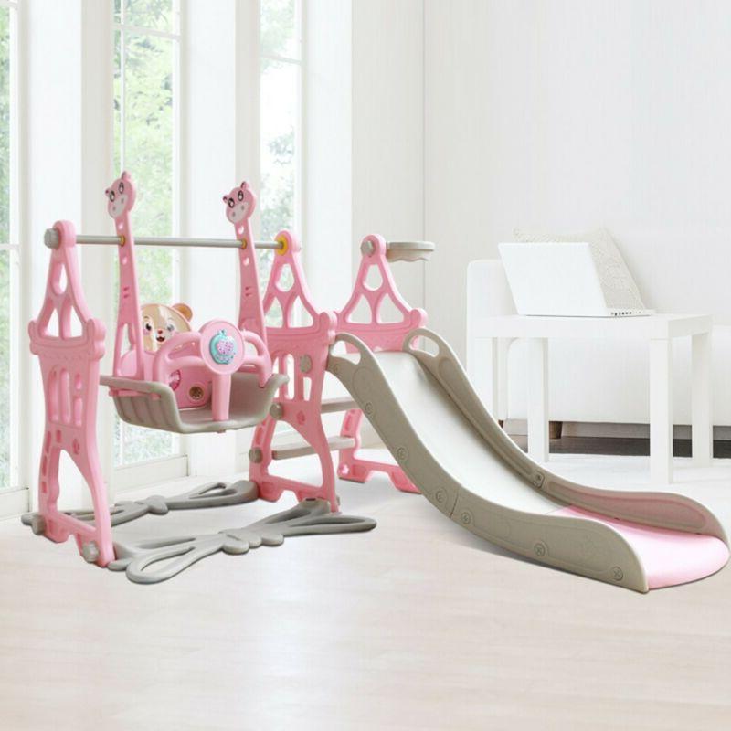 5 Play Climbing Swing Hoop Music Play
