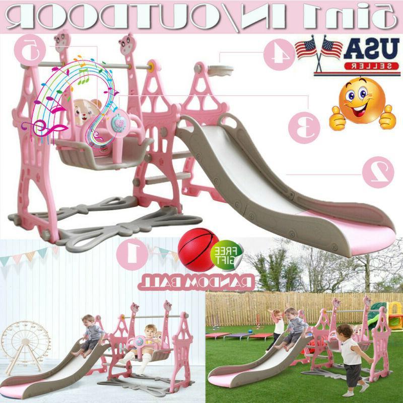 5 in 1 toddler play set indoor