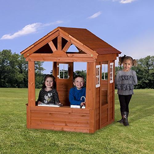 Backyard Cedar Playhouse
