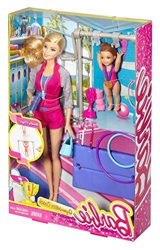 Barbie Gymnastic Coach Dolls &